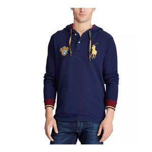 Polo Ralph Lauren Men's Long Sleeve Hooded Shirt